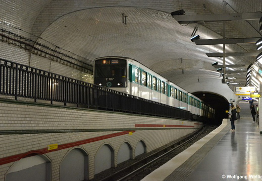 Metro Paris, MF67 2107, Mirabeau