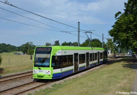 Tram London-Croydon, 2552, Lloyd Park