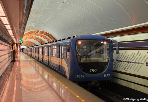Saint Petersburg Metro, 10368, Обводный канал (Obvodny Kanal)