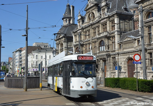Tram Antwerpen, 7007, Nationale Bank