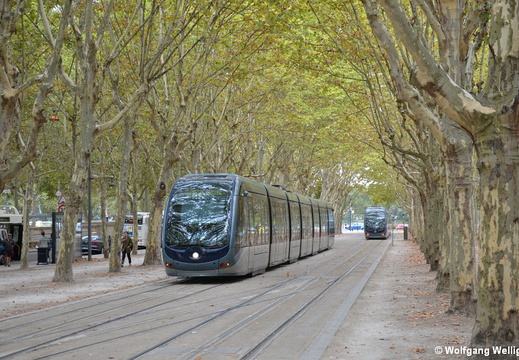 Tram Bordeaux, 2208, Quinconces