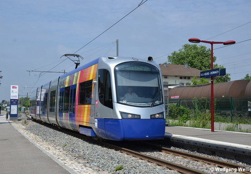 Tram-Train Mulhouse, TT20, Dornach Gare