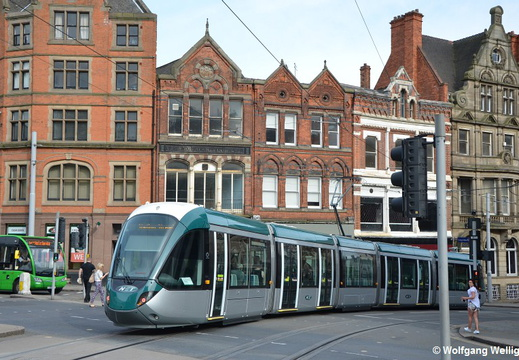 Nottingham Tram, 224, Royal Centre