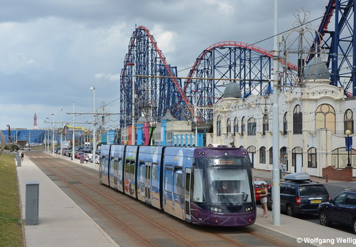 Blackpool Tram 016, Burlington Road West