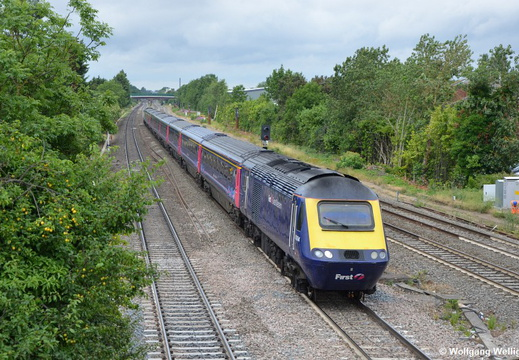 First Great Western 43 094, Langley