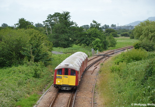 Island Line (Isle of Wight), 483 007, Brading