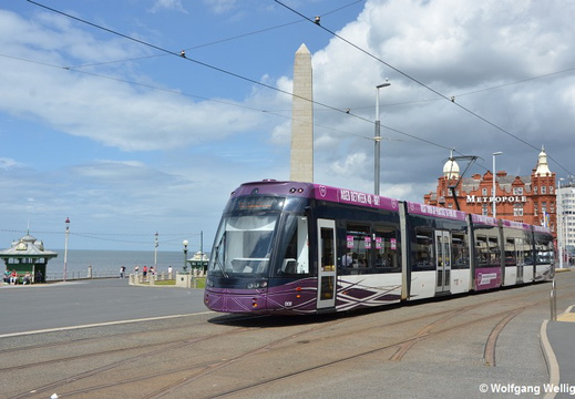 Tram Blackpool, 008, North Pier