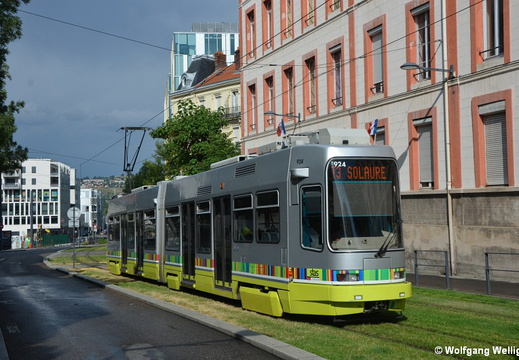 Tramway Saint-Étienne, 924, Fourneyron