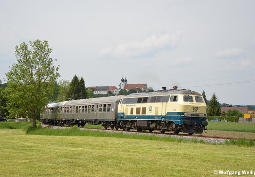 DB 218 460, Altenmarkt (Alz)