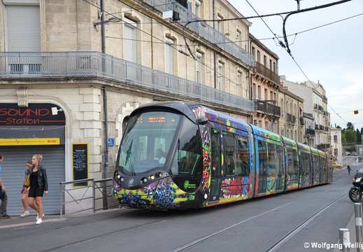 Tram Montpellier, 2071, Place Carnot
