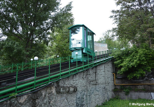 Kiev Funicular, near Lower Terminus