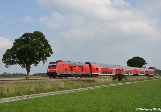 DB 245 001, Rammingen (Bay)