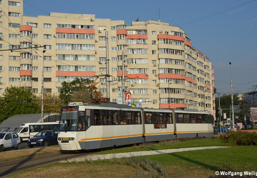 Bucharest Tram 4022, Bucur Obor