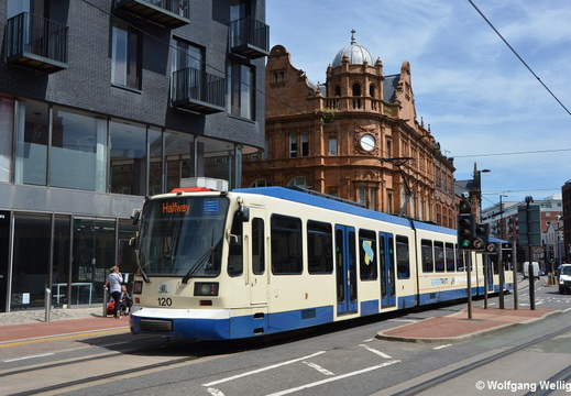 Sheffield Supertram, 120, West Street