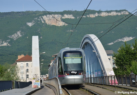 Tramway Grenoble, 6024, Berriat-Le Magasin